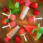Healthy Popsicles+Grown up 'Pop-TAILS'
