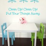 Clean Up Time Song