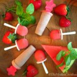 Strawberry-Kale Cream Pops & Grown-Up Pop-tails