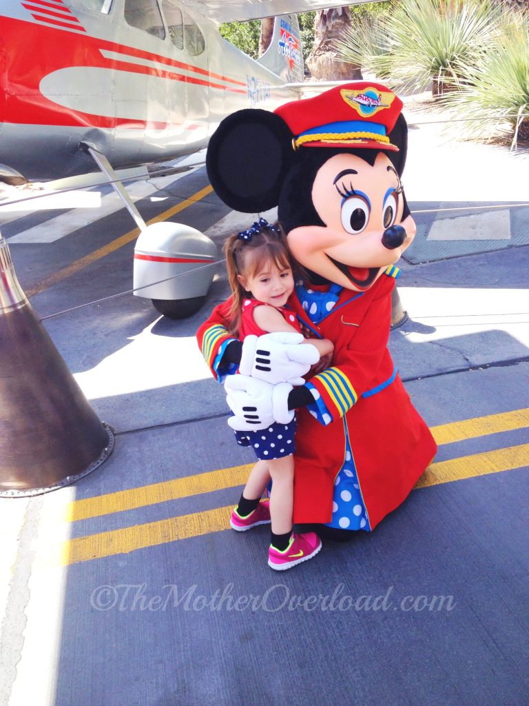 Minnie-flight attendant