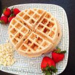 Egg-Free Cinnamon-White Chocolate Waffles