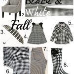 Fashion Friday: Black & White Houndstooth #Houndstooth