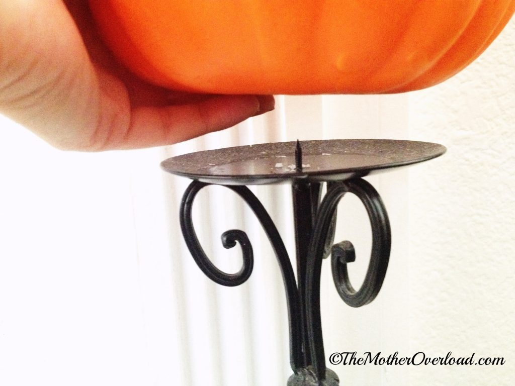 DIY topiary - Pumpkin