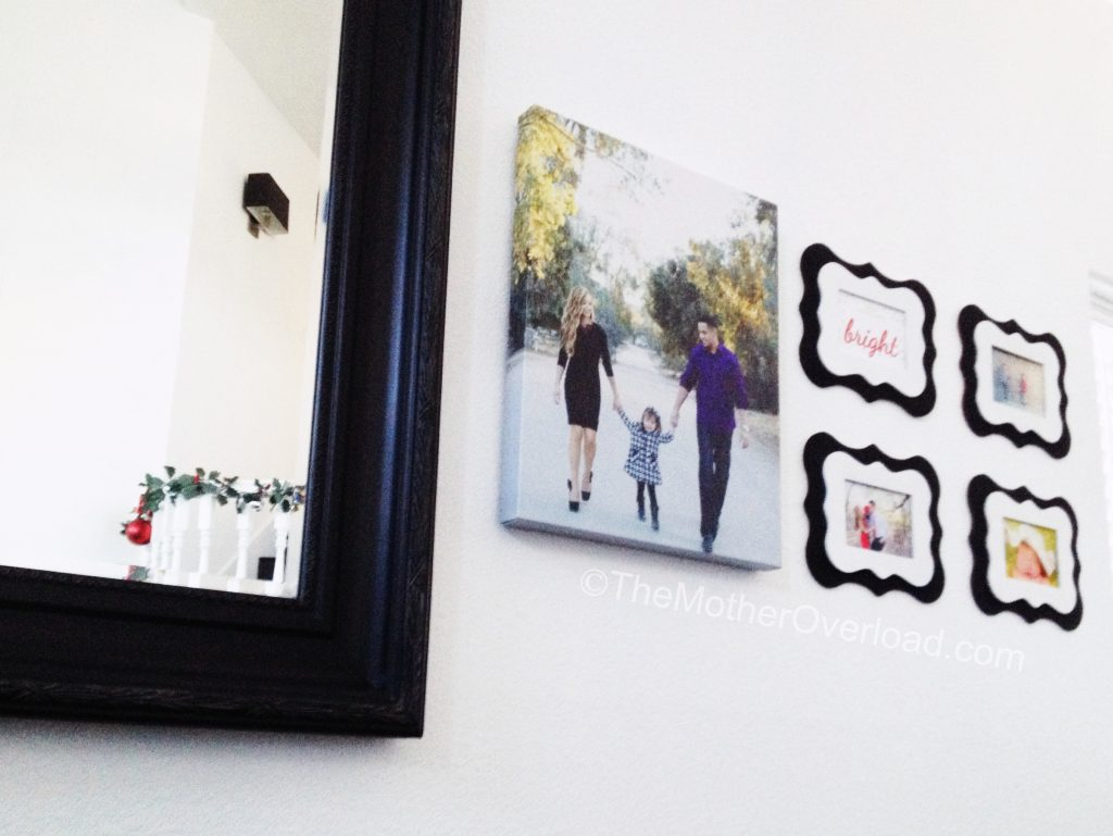 DIY-Frames-Holiday-Christmas-Home Decor