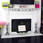 Easter Mantel: Simple & Chic