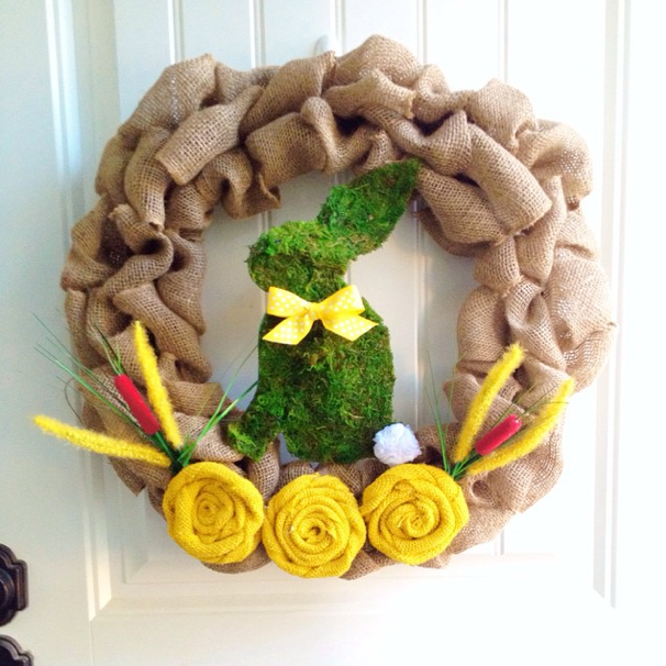 Easter-Wreath-Burlap-Moss
