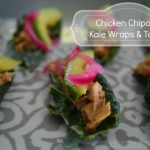 Chicken Chipotle Kale Wraps & Tacos
