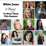 How To Style White Jeans 11 Ways