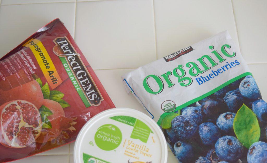 Frozen-Yogurt-Pomegranate-Blueberry