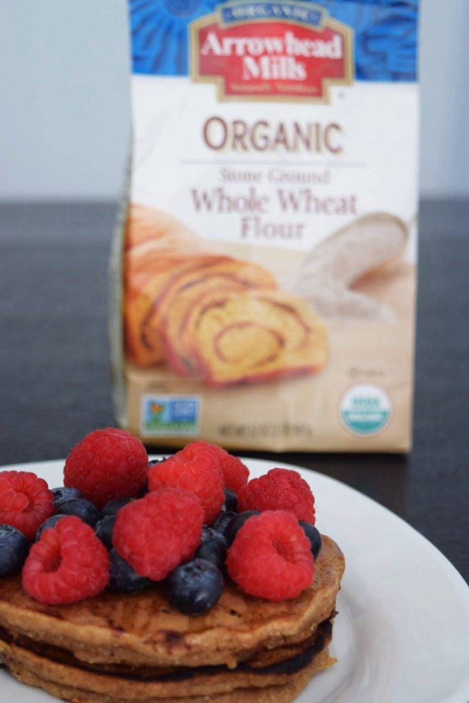 Egg-free Whole Wheat Pancakes