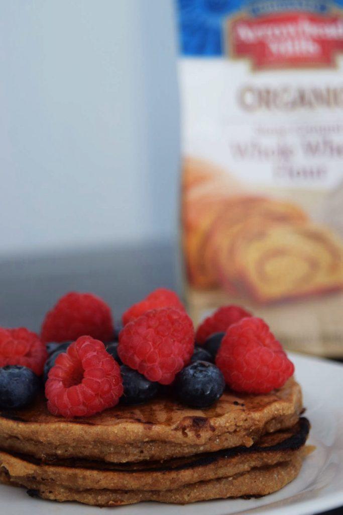 Egg-free Whole Wheat Pancakes