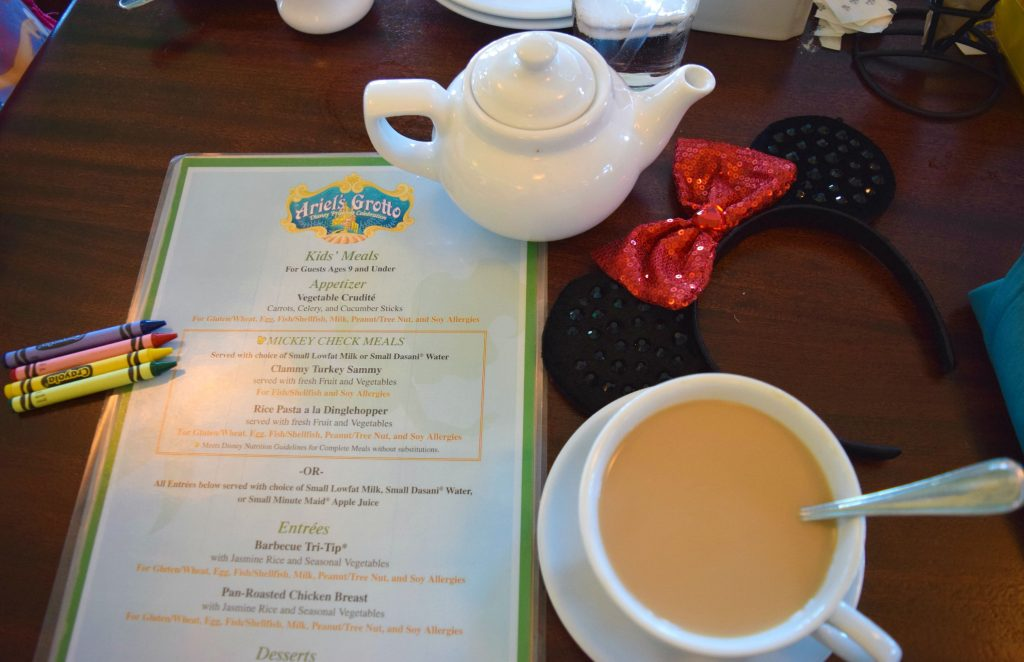 Allergy-Food-Menu-Ariels-Grotto-Disneyland-Disney-California-Adventure