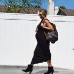 Style The Bump: Geometric Backpack