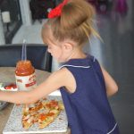 Cooking with Kids: Naan Personal Pizza