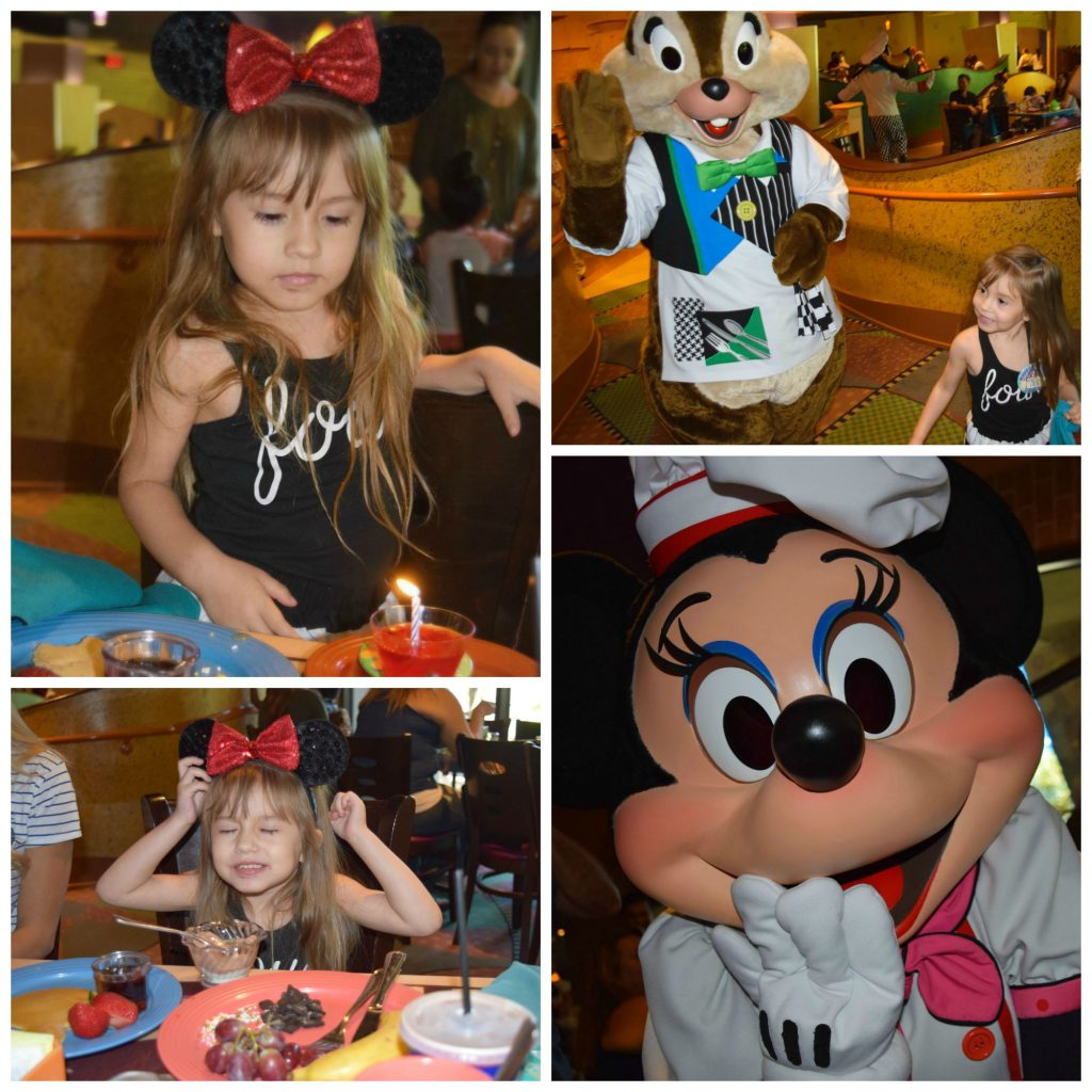 Disneyland-GoofysKitchen-Birthday Celebration-Ideas