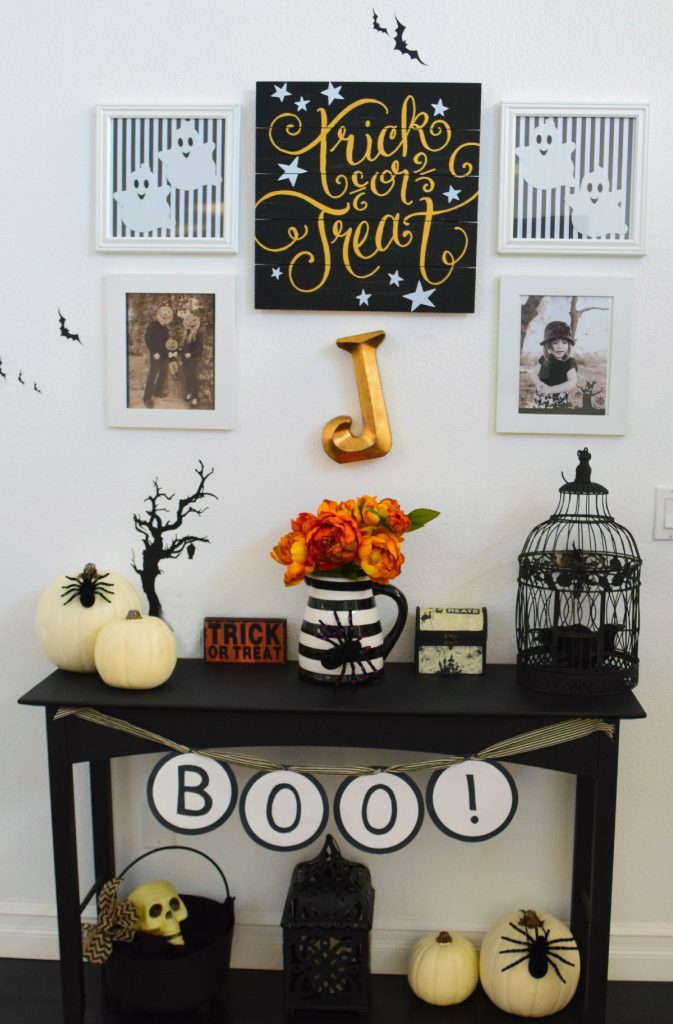 Halloween-Decor-For Less-Inexpensive-Hobby Lobby-Home Goods-Michaels-PicMonkey