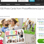 Groupon Holiday Cards and Perfect Gifts