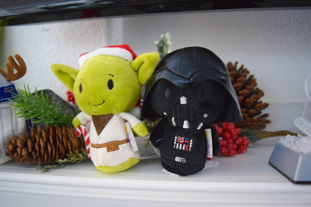 Star Wars - Itty Bitty's - Hallmark - Plush - Holiday - Toys - Christmas - Ornament