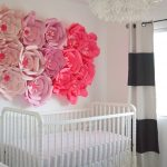 Baby Nursery: Pink, Black + White