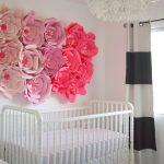 Baby Nursery: Pink, Black + White