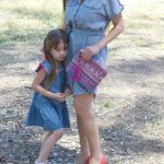 Chambray Shirtdress + Neon