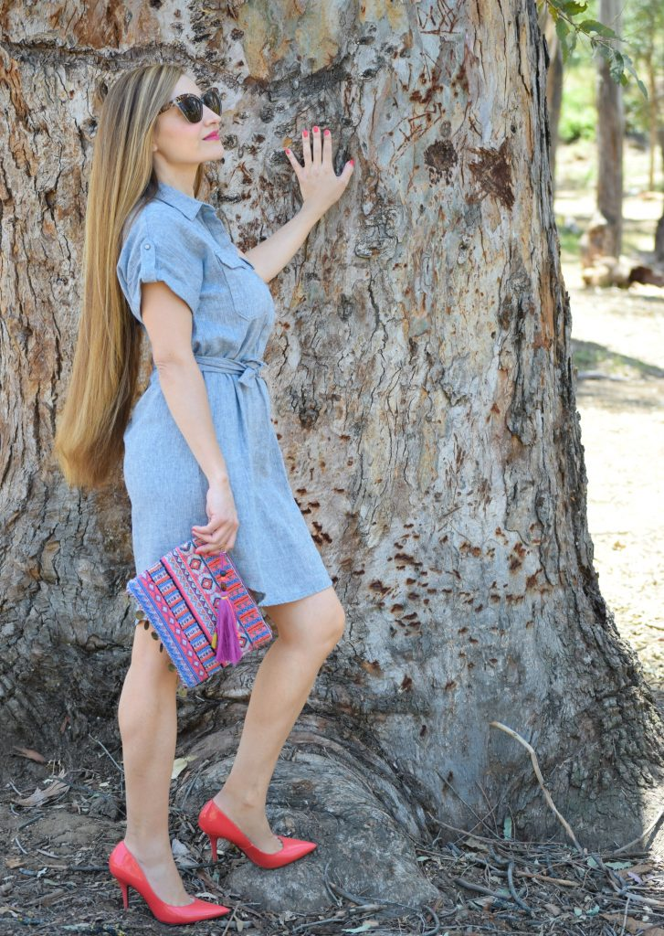 Banana Republic-Chambray-shirtdress-Target-Clutch-Toddler-Outlet