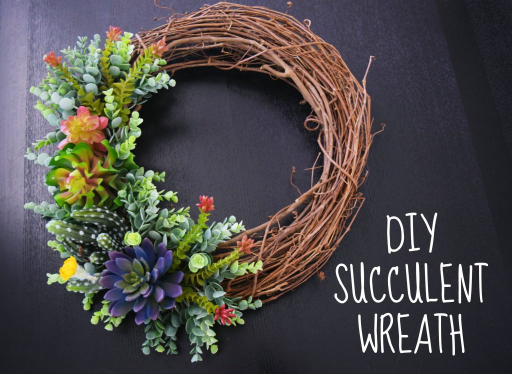 Succulent-wreath-diy-summer
