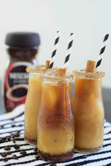 Iced Mexican Coffee - The Mother Overload