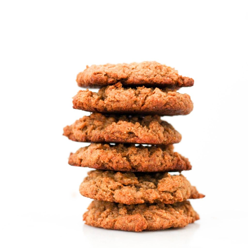 Breakfast Peanut Butter Cookies - No sugar added