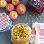 Apple Pumpkin Pie Spice Overnight Oats