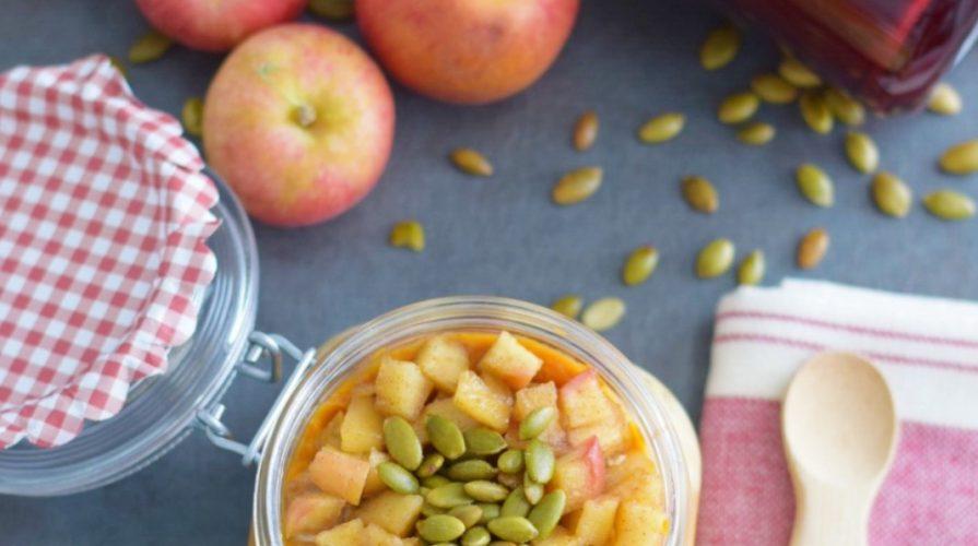 apple-pumpkin-spice-oats-healthy breakfast recipe