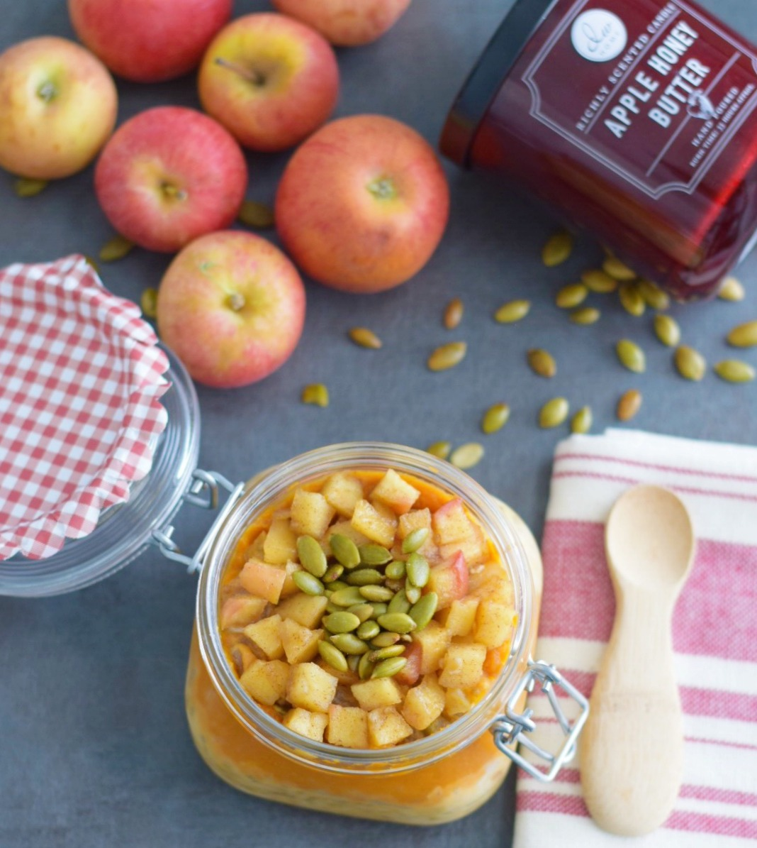 apple-pumpkin-spice-oats-healthy breakfast recipe