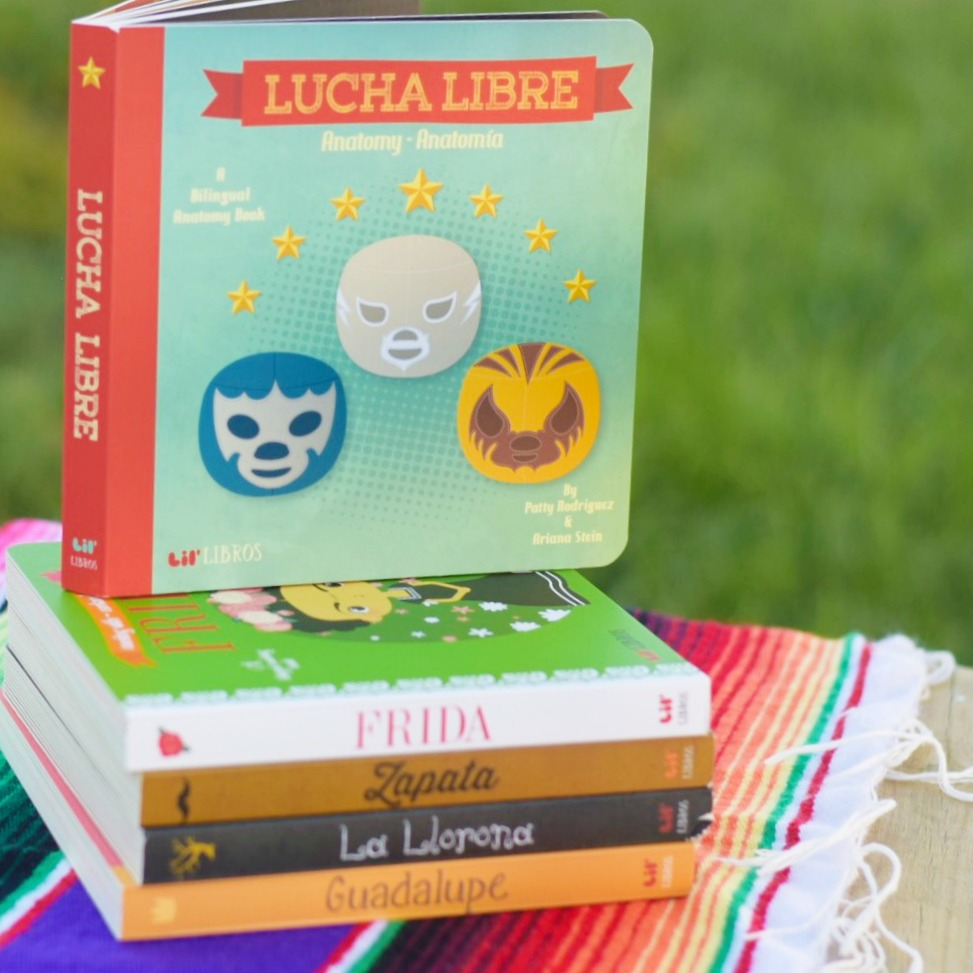 Patty Rodriguez-Ariana Stein-Lil' Libros-Interview-Giveaway