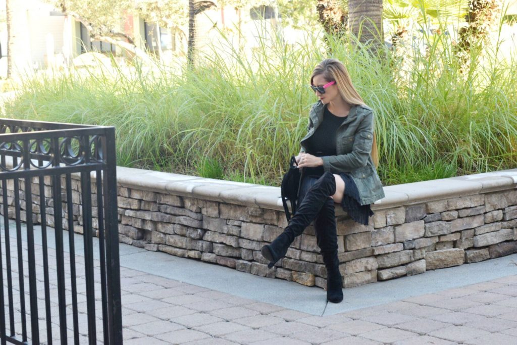 Over the knee boots-outfit