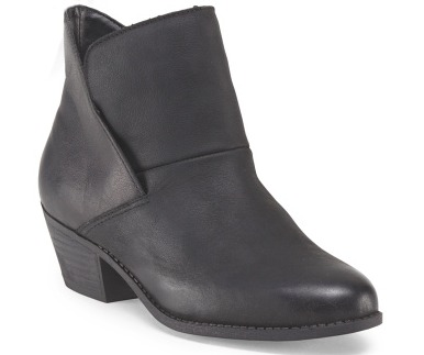 Me-too-Leather-Ankle-Bootie