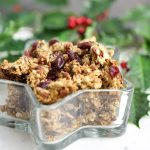 Cranberry Pecan Sea Salt Granola