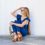 The Cutest Denim Jumpsuit For Spring