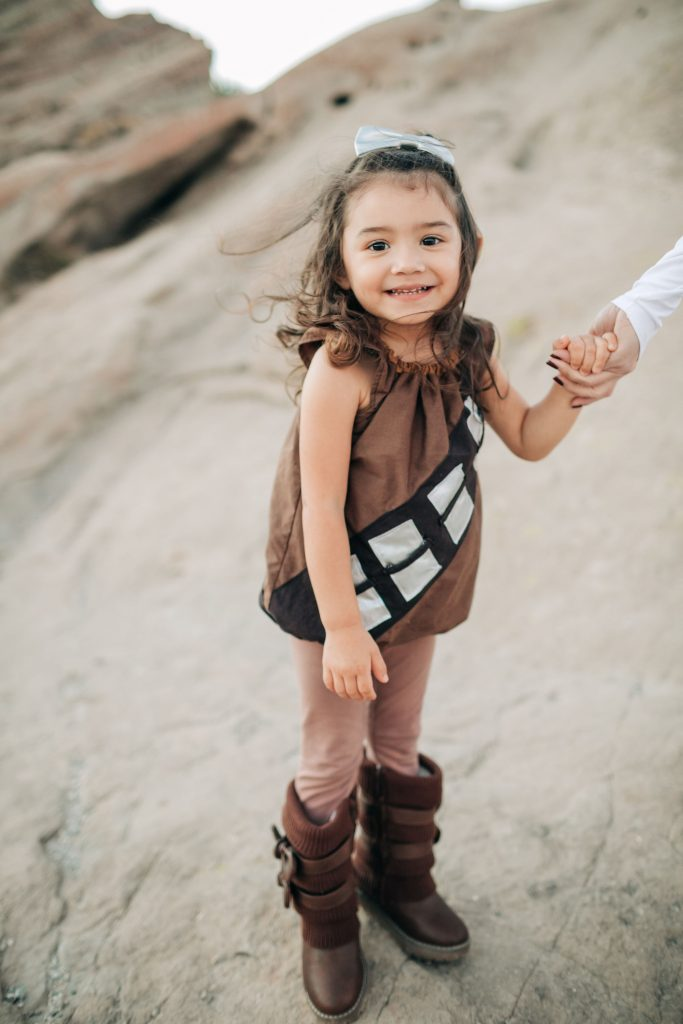 The Best Family Halloween Costumes -Chewbaca-Rey-Star Wars-Vazquez Rocks-Family Costume-The Mother Overload