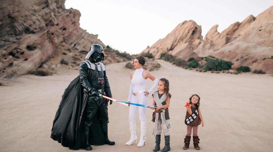 The Best Family Halloween Costumes -Star Wars-Vazquez Rocks-Family Costume-The Mother Overload