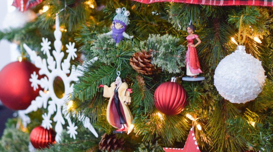 Disney DIY Ornaments Under $2 Christmas Tree decor