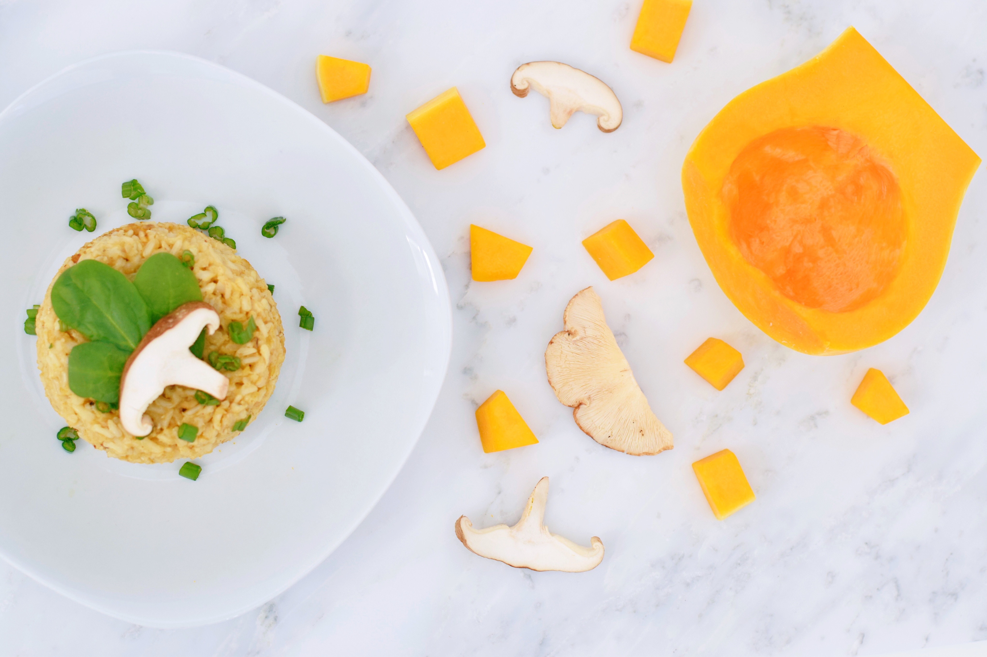 Butternut Squash Shiitake Mushroom Recipe Kid approved healthy family meals