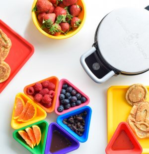 Disney-Mickey-Mouse-Waffles-Healthy-Eggfree-eggless-flaxseed-chia seed-Waffle Machine