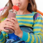 Kid Immune Boosting Elderberry Smoothie