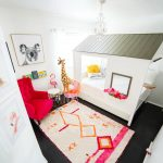 Girls Modern Animal Bedroom