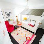 Girls Modern Animal Bedroom