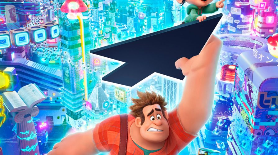 RALPH BREAKS THE INTERNET: WRECK-IT RALPH 2 Trailer Poster