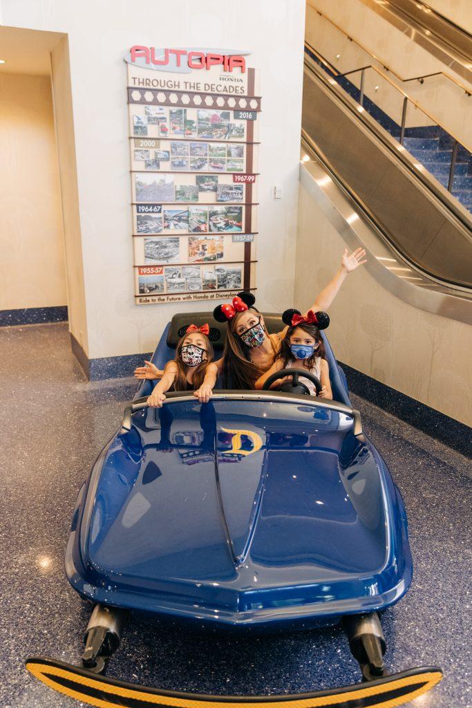 Birthday at the Disneyland Hotel 2021 - Reasons to stay at Disneyland Hotel 2021 Celebrate a birthday pool cabana monorail slides