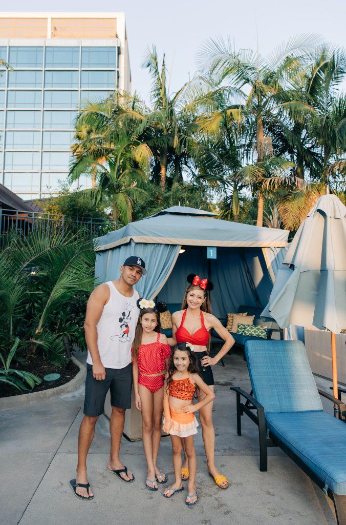 Disneyland Cabana- 5 reasons to stay at the Disneyland Hotel-Celebrate a birthday-Magic hour-Geenie+