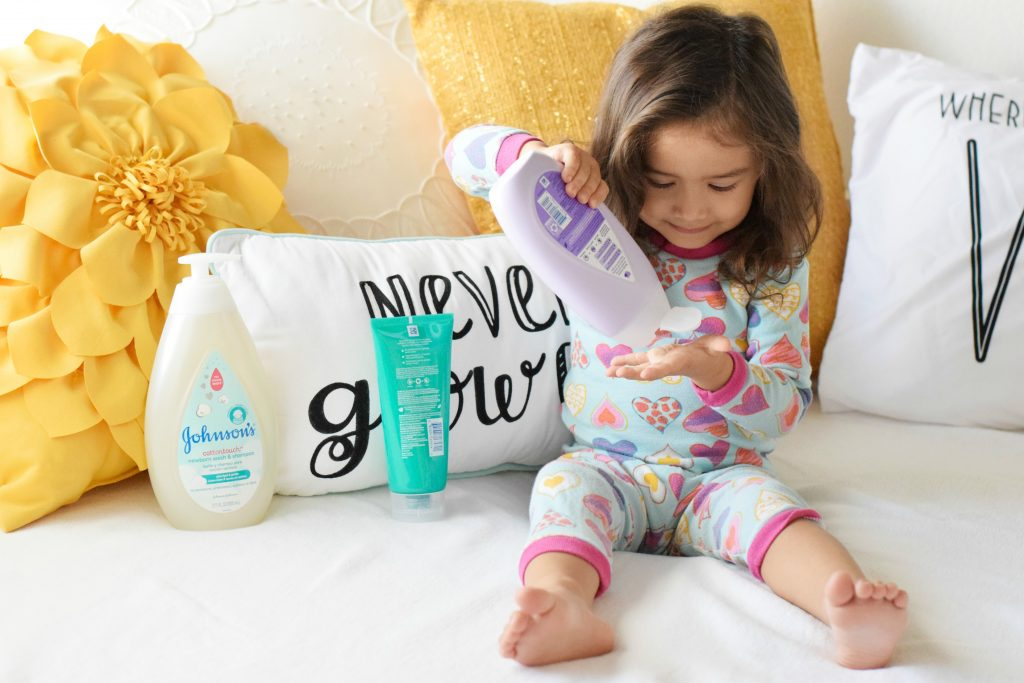 Stress-free Toddler Bedtime Routine-Tips-JOHNSON'S® Baby COTTONTOUCH-new and improved formula- newborn, baby, kids