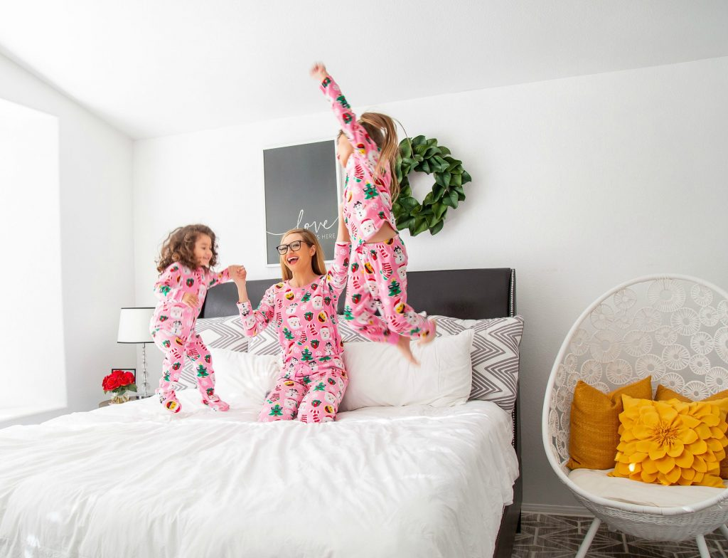 Matching-PJs-The Best Holiday Wish List For Girls-Holiday 2018-The Children's Place- #CelebrateWithLove-Christmas Wish List